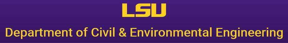 LSU Department of Civil & Environmental Engineering